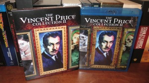 The Vincent Price Collection II (slip-box and case art by Joel Robinson)