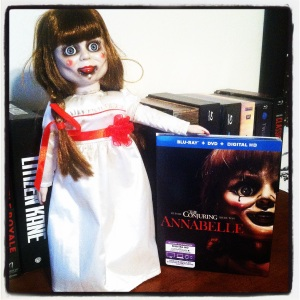 Annabelle Promotional Doll with Blu-Ray Combo Pack