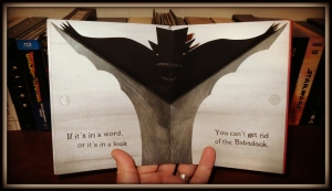 The Babadook (slipcover pop-up effect)